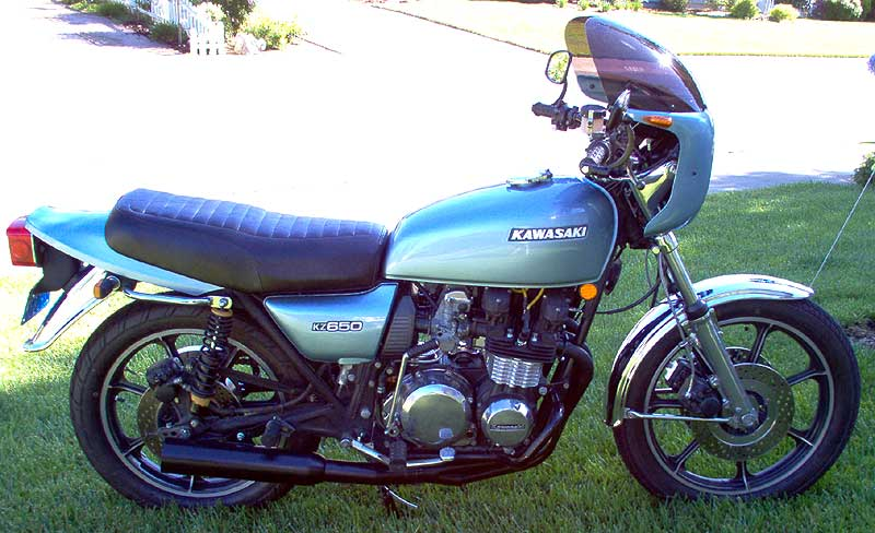 vintage motorcycle part, classic kawasaki, motorcycle