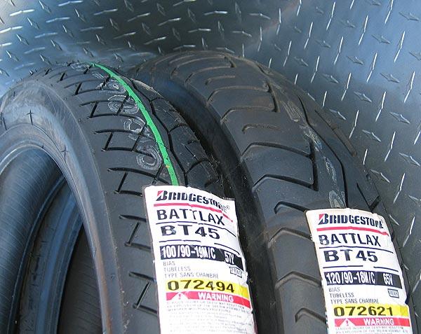 Total Motorcycle Tire/Tyre Guide  Bridgestone BT45